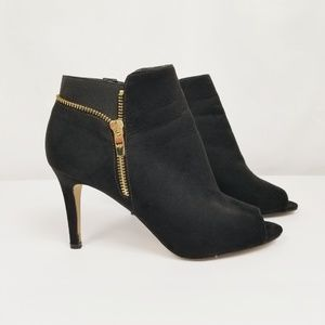 Marc Fisher Open-toed Booties